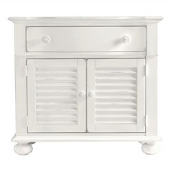 Coastal Living Retreat-Summerhouse Chest in Saltbox White