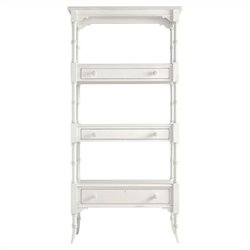Coastal Living Retreat-Etagere in Saltbox White