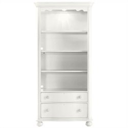 Coastal Living Retreat-Bookcase in Saltbox White