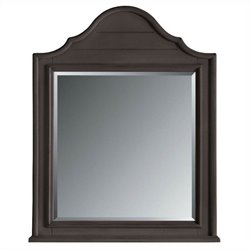 Coastal Living Retreat-Arch Top Mirror in Gloucester Grey