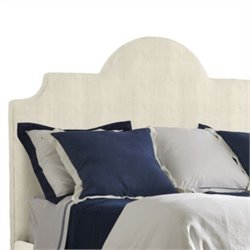 Coastal Living Retreat-Breach Inlet Twin Headboard in Irish White Herringbone